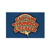 Captain Thunder-Stealer Rectangle Magnet (10 pack)