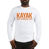 Kayak Palindrome Long Sleeve T-Shirt