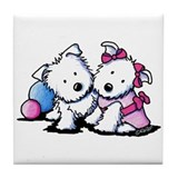 Wendell & Willow Westie Tile Coaster