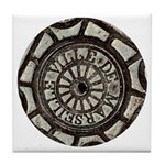 French Drain Cover Tile Coaster
