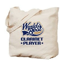 Worlds Best Clarinet Player Tote Bag