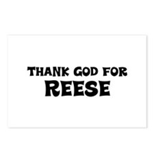 Thank God For Reese Postcards (Package of 8)