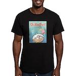 Angel Bud/Devil Bud Men's Fitted T-Shirt (dark)