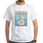 Angel Bud/Devil Bud White T-Shirt