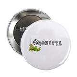 "Grokette, paleo, primal 2.25"" Button (10 pack)"