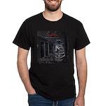GBMI Outta the Asylum CD Cover Dark T-Shirt