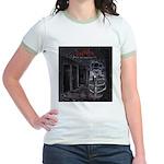 GBMI Outta the Asylum CD Cover Jr. Ringer T-Shirt