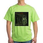 GBMI Outta the Asylum CD Cover Green T-Shirt