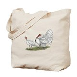 Turkeys: White Holland Tote Bag