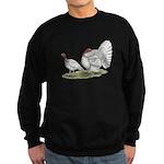 Turkeys: White Holland Sweatshirt (dark)