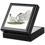 Turkeys: White Holland Keepsake Box