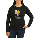 Optometry Chick Optometrist Women's Long Sleeve Da