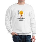 Optometry Chick Optometrist Sweatshirt