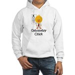 Optometry Chick Optometrist Hooded Sweatshirt