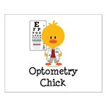 Optometry Chick Optometrist Small Poster