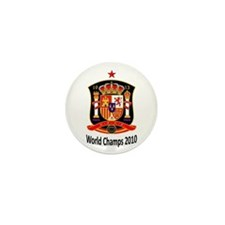 Cute Espana 2010 Mini Button (100 pack)