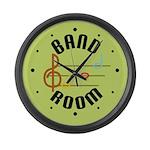Bright Band Room Music Clock