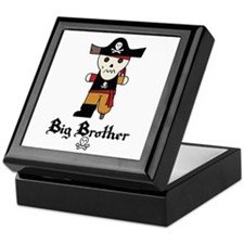 Pirate 1 Big Brother Keepsake Box