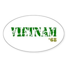 Vietnam '68 Decal