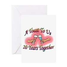 Cute In the wedding party Greeting Card