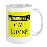 WARNING: Cat Lover Coffee Mug