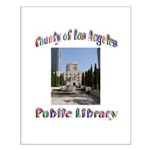 Los Angeles Library Small Poster