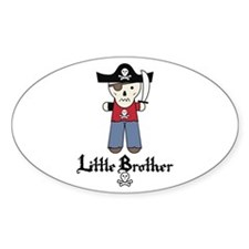Pirate 3 Little Brother Decal