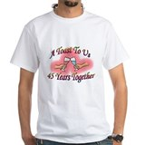 Unique 45th. wedding anniversary Shirt