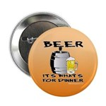 BEER, It's What's For Dinner Button