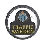 Sussex Police Traffic Warden Wall Clock