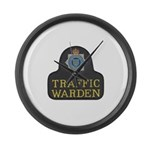 Sussex Police Traffic Warden Large Wall Clock
