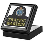 Sussex Police Traffic Warden Keepsake Box