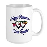 Cool 1st wedding anniversary Mug