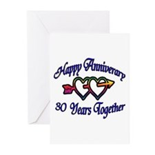 Wedding anniversary favors Greeting Cards (Pk of 20)