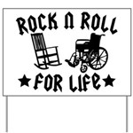 Rock and Roll Yard Sign