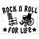 Rock and Roll Small Poster