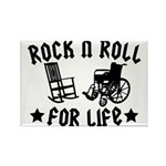 Rock and Roll Rectangle Magnet