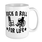 Rock and Roll Large Mug