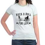 Rock and Roll Jr. Ringer T-Shirt