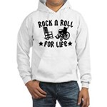 Rock and Roll Hooded Sweatshirt