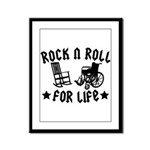 Rock and Roll Framed Panel Print