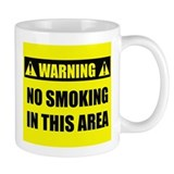 WARNING: No Smoking Mug