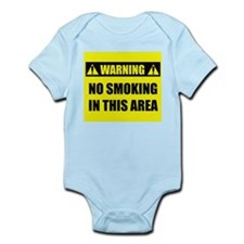 WARNING: No Smoking Infant Bodysuit