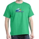 Duck NC - Waves Design T-Shirt