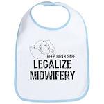 Legalize Midwifery Bib