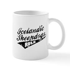 Icelandic Sheepdogs Rule Small Mug