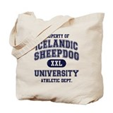 Icelandic Sheepdog U Tote Bag