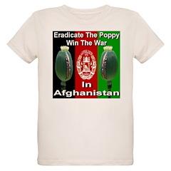 Eradicate The Poppy Organic Kids T-Shirt