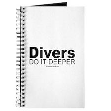Divers do it deeper - Journal