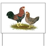 Russian Orloff Chickens Yard Sign